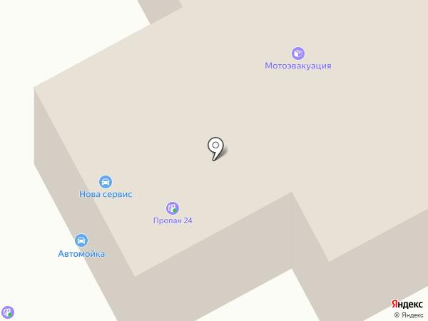 NOVA service на карте