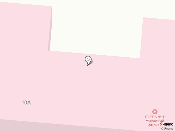 Тульская областная клиническая психиатрическая больница №1 им. Н.П. Каменева на карте