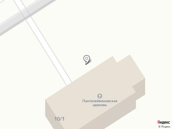 Храм в честь великомученика и целителя Пантелеймона на карте