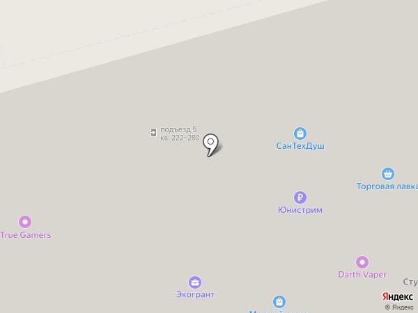 СанТехДуш на карте