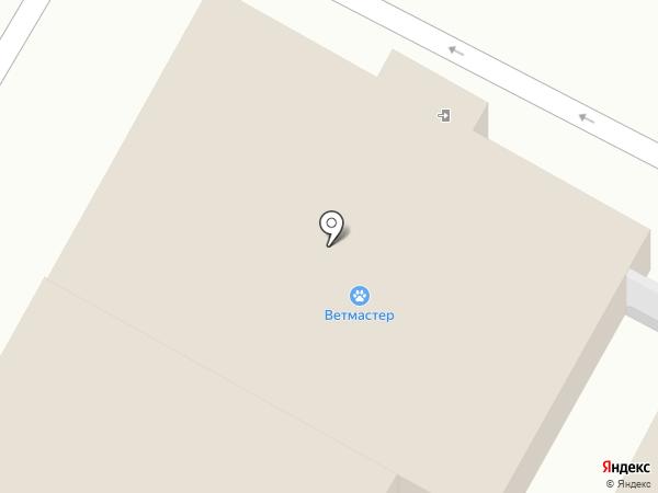 Ветмастер на карте