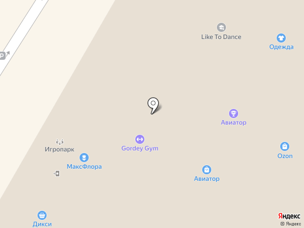 Gordey Gym на карте