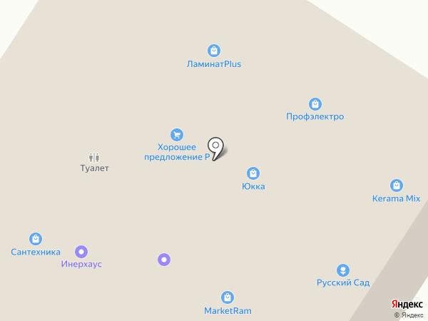 Томилочка на карте