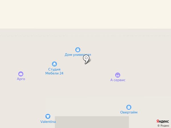 Центрозайм на карте