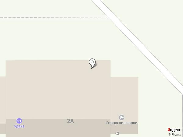 Городские парки, МБУ на карте