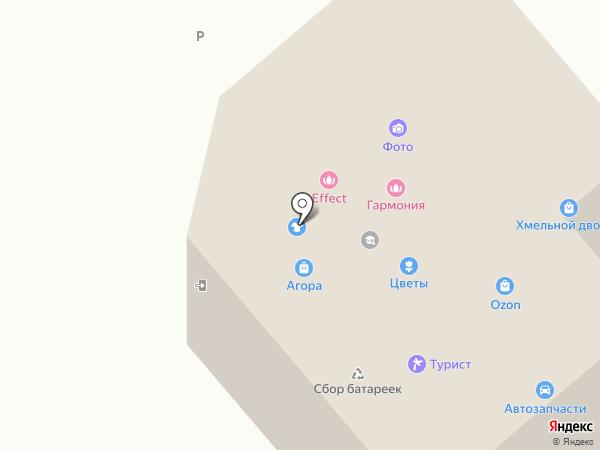 Патрикеевна на карте