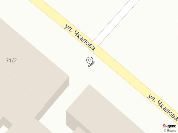 Пиротекс на карте