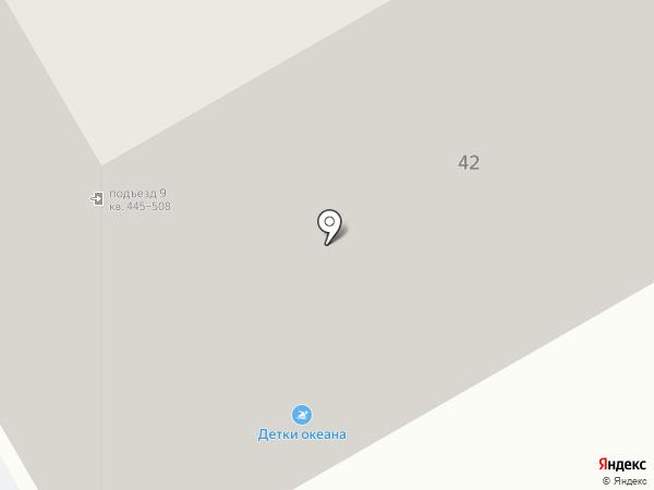 Аквапузики на карте