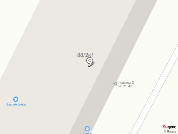 Сёма на карте