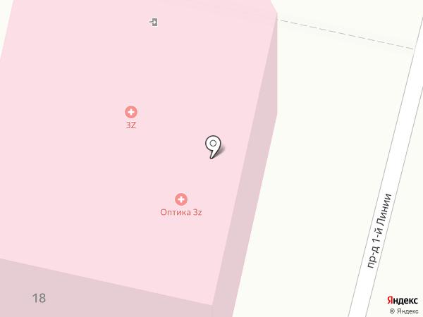Три-3 на карте