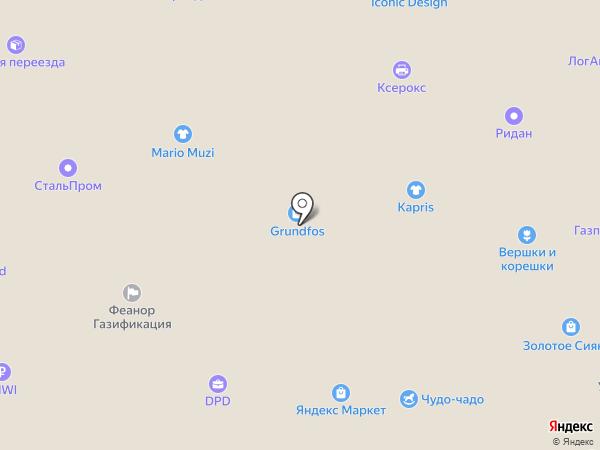 Кревс Плюс на карте