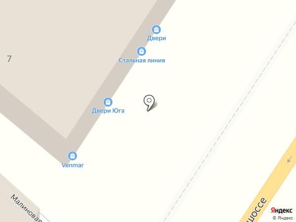 ДВЕРИВЕЛЛ на карте