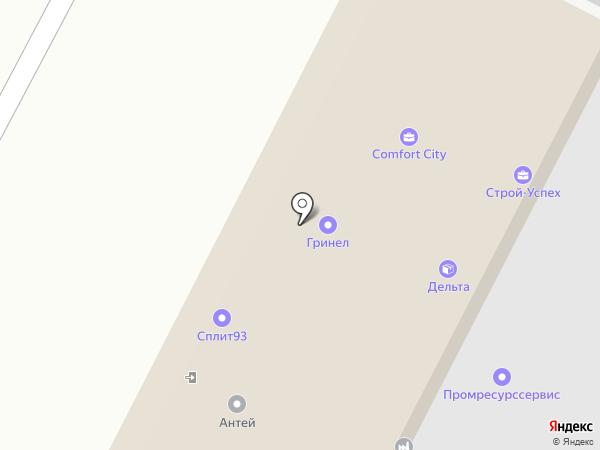 Константа на карте