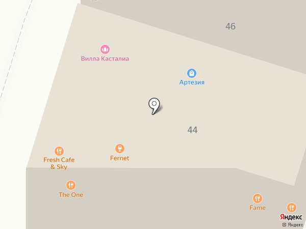 Villa Castalia на карте