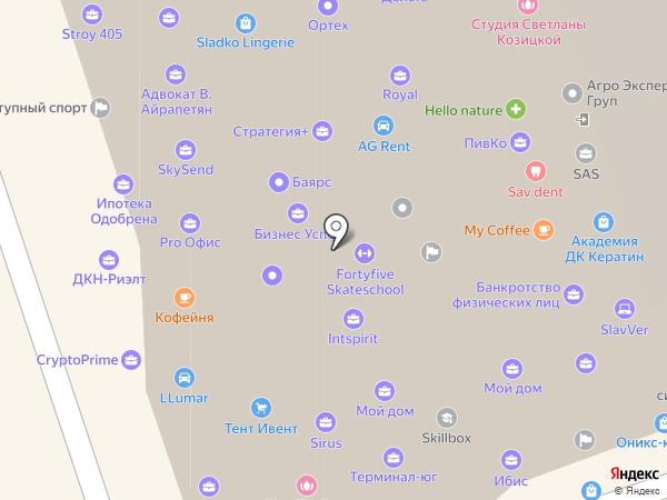 ФранСис на карте