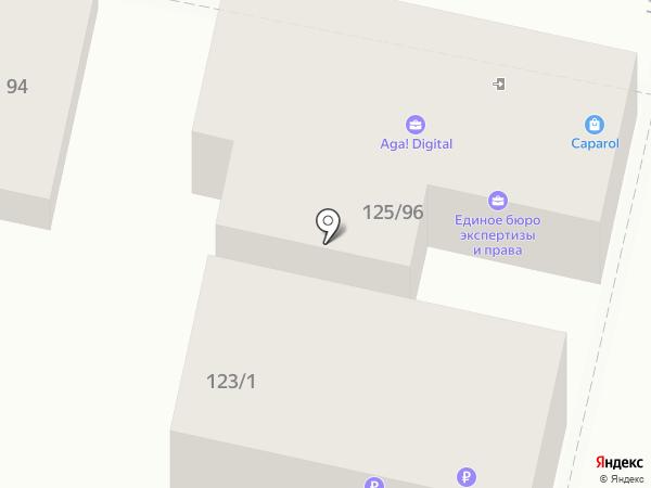 Паркет Холл на карте