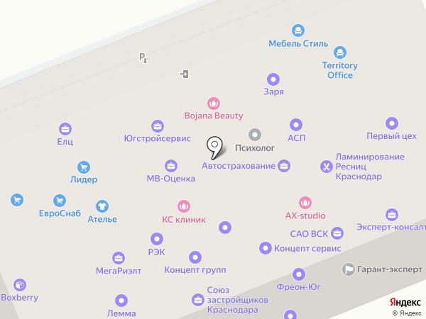 Единый Лицензионный Центр на карте