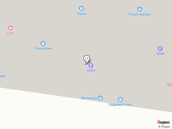 Каян на карте