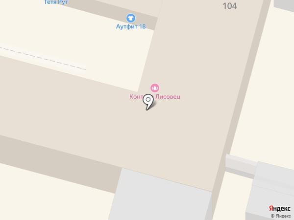 Игровое поле на карте