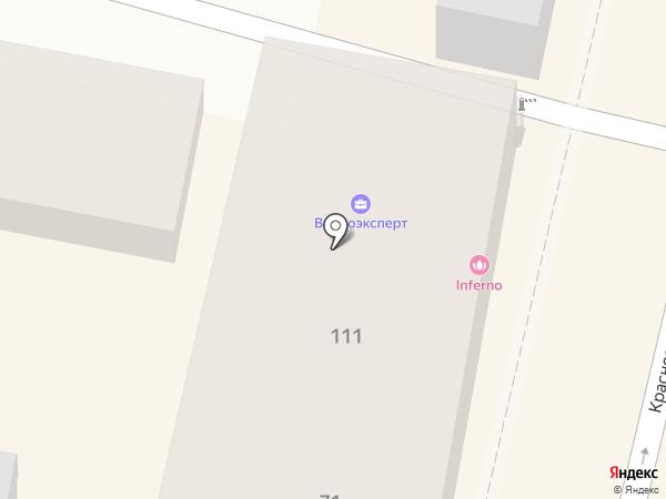 Италмебель на карте