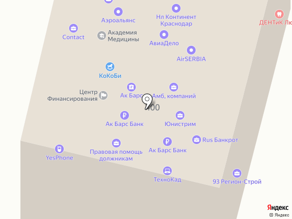 Центр помощи призывникам на карте