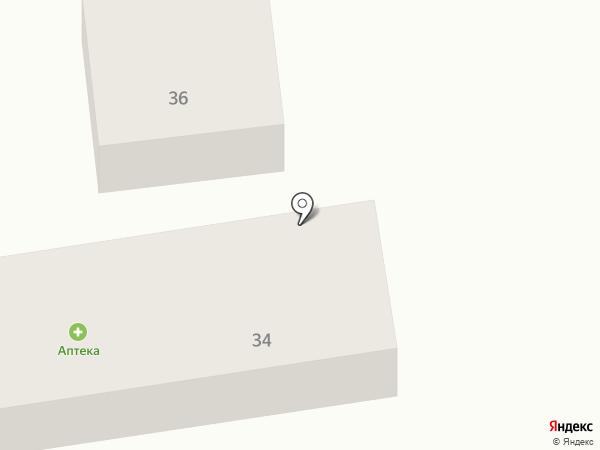 Аптека на Широкой на карте
