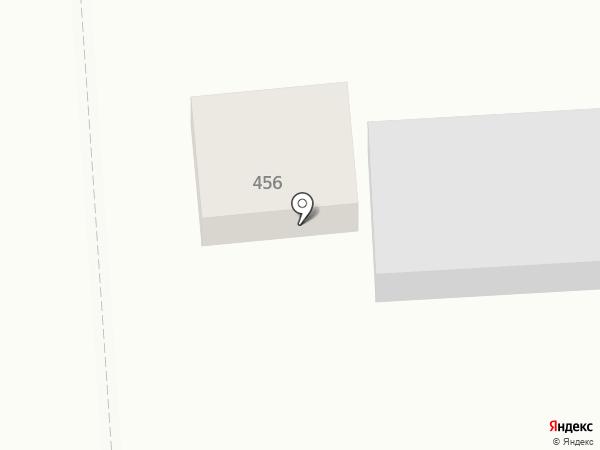 Абакан на карте