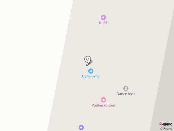 Буль-Буль на карте