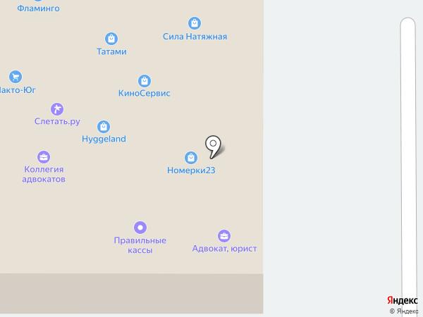 КубаньСБ на карте