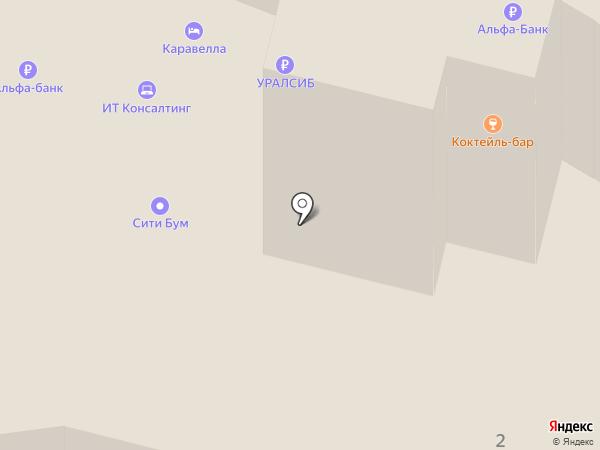 Каравелла на карте