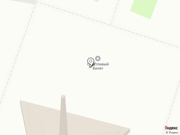 Эдем на карте