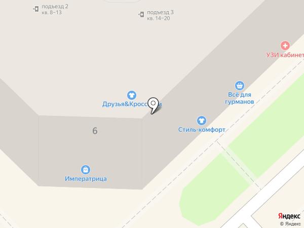 Павловский на карте