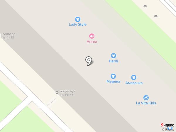 Мурена на карте