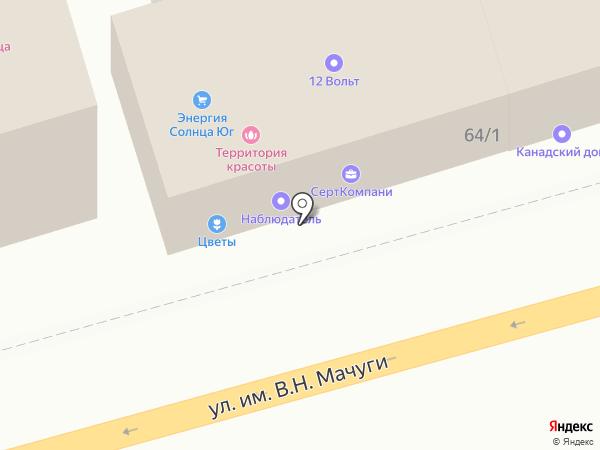 АВТО-DDR на карте
