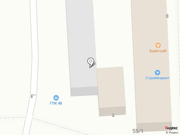 Арм-Юг на карте