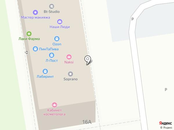 Оконный магазин на карте