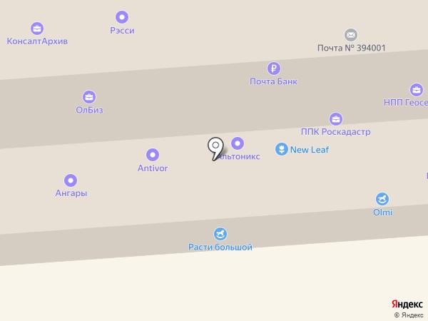 Промавтострой на карте