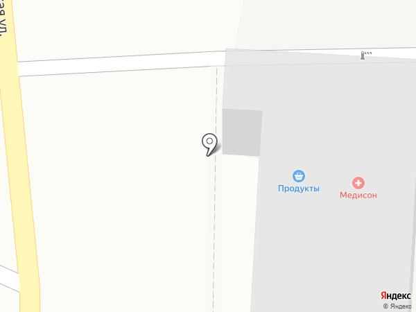 Алюконт на карте