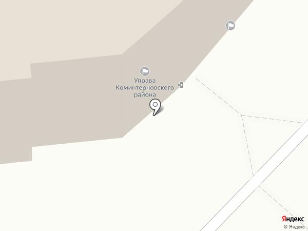 Управление главного архитектора, МКП на карте