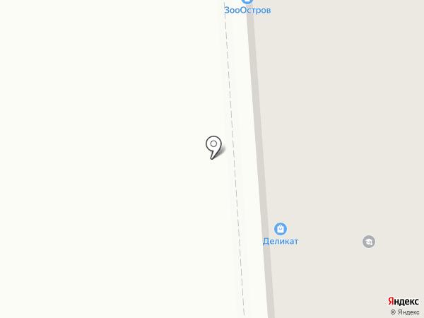 Деликат на карте
