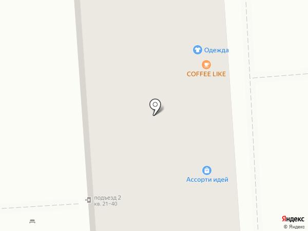 Автодетали на карте