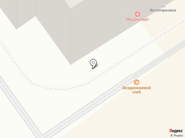 МедЭксперт на карте
