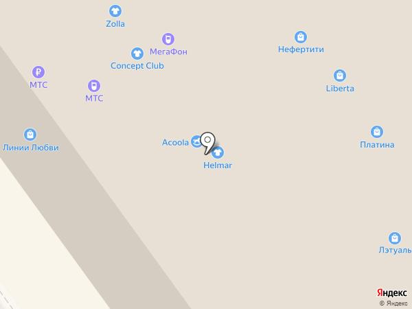 Камильян на карте