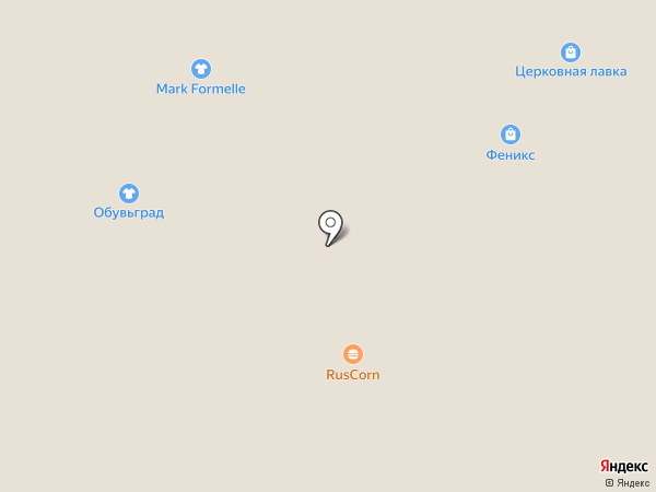 Конфаэль на карте