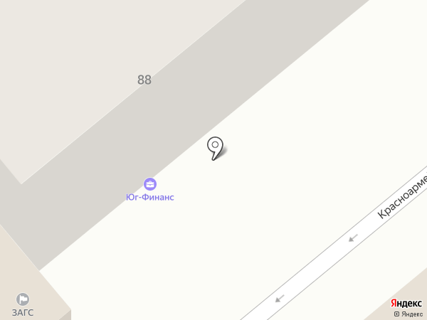 Рица на карте