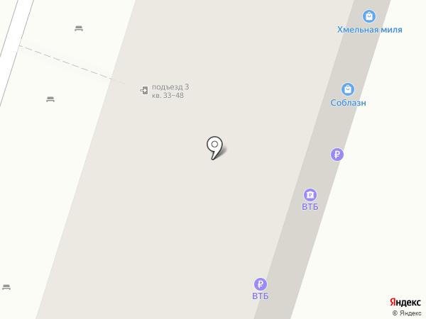 Хмельная миля на карте