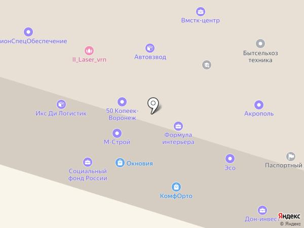 Детский двор на карте