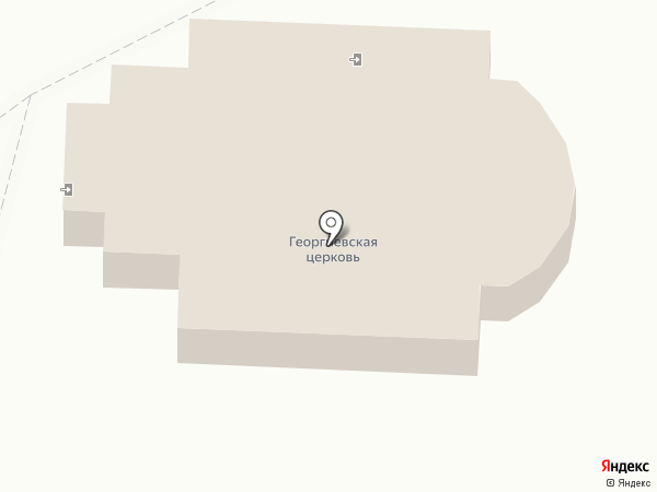 Храм Георгия Победоносца на карте