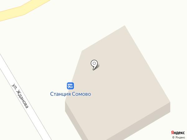 Журавлики на карте