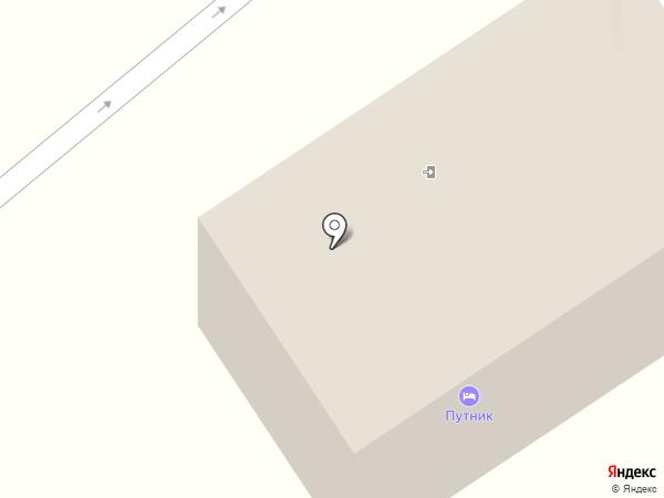 Путник на карте